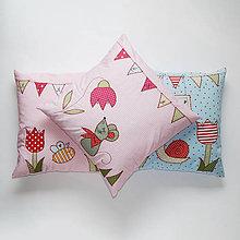 Textil - Detský bavlnený vankúšik - 10692093_