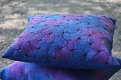 Úžitkový textil - V barvách hortenzií I - povlak - 10691392_