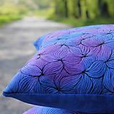 Úžitkový textil - V barvách hortenzií I - povlak - 10691395_