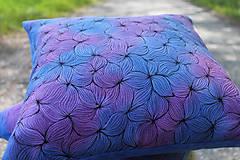 Úžitkový textil - V barvách hortenzií I - povlak - 10691398_