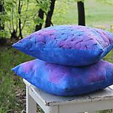 Úžitkový textil - V barvách hortenzií I - povlak - 10691400_