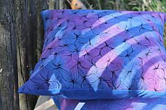 Úžitkový textil - V barvách hortenzií I - povlak - 10691402_