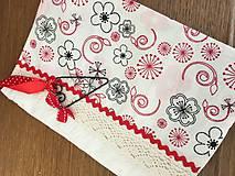 Papiernictvo - Zápisník kvetinky - 10691655_