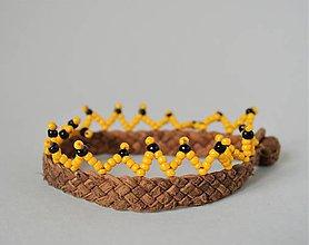 Náramky - Členkový náramok , Egyptský africký náramok - 10692169_