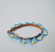 Náramky - Členkový náramok , Egyptský africký náramok - 10692460_