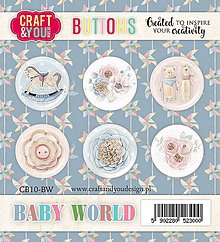 Komponenty - Buttony - Baby World - 10691855_