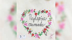 Nákupné tašky - ♥ Plátená, ručne maľovaná taška ♥ (MI4) - 10690726_