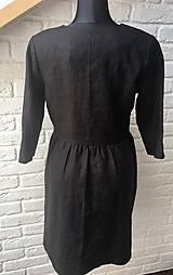 Šaty - Šaty na dojčenie ME TOO - čierne button - 10693164_