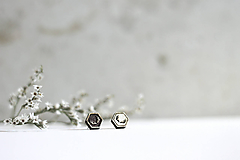 Náušnice - Mini príroda - 10691676_