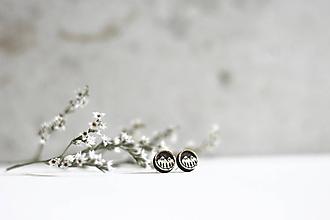 Náušnice - Mini príroda (Krúžok Hory) - 10691667_