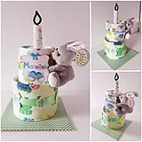 Detské doplnky - MINI tortička - 10690474_