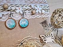 Náušnice - Water inspired earrings - 10691463_