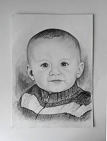 Kresby - chlapček v pulóvriku... :-) - 10691587_