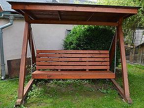 Nábytok - Záhradná hojdačka - 10691473_