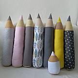 Textil - Zvieratkovské ceruzky - 10691918_