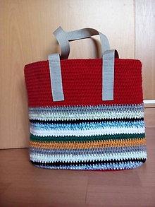 Veľké tašky - taška letná - 10691115_