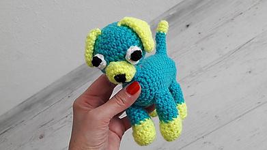 Hračky - psík - modrý - 10691597_