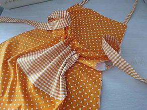 Úžitkový textil - Zástera - Orange - 10695905_