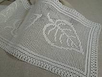 Úžitkový textil - *** Listy -  háčkovaná  stóla*** - 10695311_