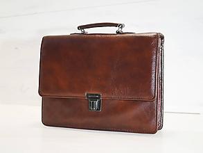Veľké tašky - Pánska aktovka - Mikelo No.2 - 10693849_