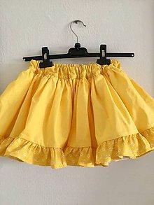 bbe3f7f790b0 Detské oblečenie - detská sukňa s volánom - 10693456