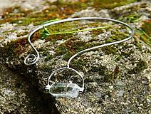"""Náhrdelníky - Nerezový náhrdelník... """" Crystal clear """" - 10694781_"""