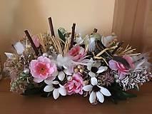 Dekorácie - V kvetinovom zátiší... - 10694937_