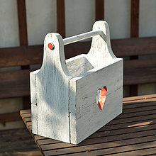 Nábytok - Debnička na záhradné náradie - 10694093_