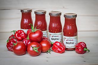 Potraviny - RajČili - omáčka s bazalkou a Habanerom - 10694903_