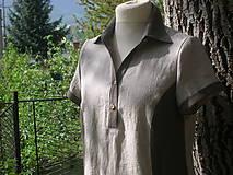 Šaty - Košeľovo - pohodové šaty - 10694996_