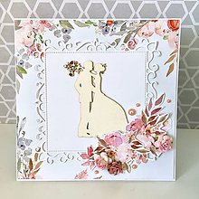 Papiernictvo - Svadobná pohľadnica - 10694408_