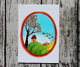 Kresby - Posledný deň babieho leta - 10694027_
