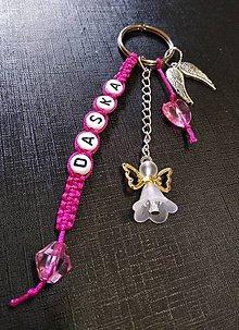 Kľúčenky - Personalizovaná kľúčenka - 10695019_