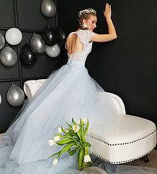 Sukne - Veľká kruhová tylová sukňa rôzne farby - 10695164_