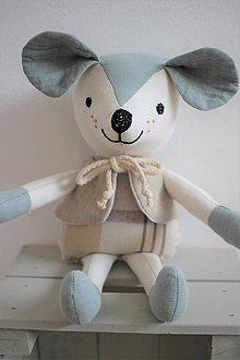 Hračky - Myšiak Teo - 10694436_