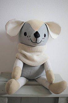 Hračky - Myšiak Leo - 10694468_
