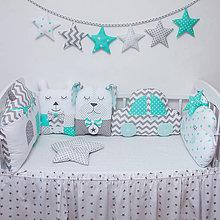 Textil - Modulové hniezdo do postielky - 10695156_