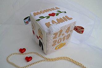 Darčeky pre svadobčanov - Svadba v kocke - 10695655_