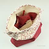 Iné tašky - Minibodkovaná tvoritaška ~ projektová taška na vaše tvorenie - 10694622_