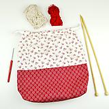 Iné tašky - Kvietkovaná tvoritaška ~ projektová taška na vaše tvorenie - 10694640_