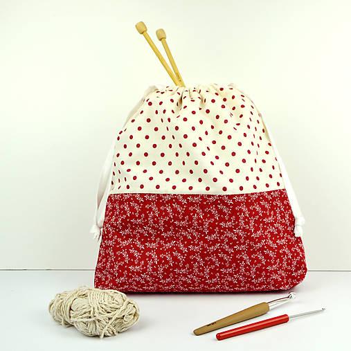 Veselá tvoritaška ~ projektová taška na vaše tvorenie