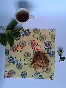 Úžitkový textil - Voskované EKOobrúsky - pánske (bicykle) - 10695423_