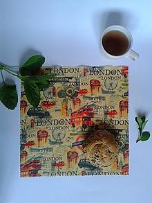 Úžitkový textil - Voskované EKOobrúsky - pánske (Londýn) - 10695460_