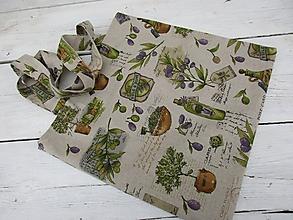 Nákupné tašky - EKOtaška oliva - 10695238_