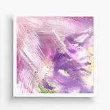 Obrazy - maľba Ružový sen II - 10695580_