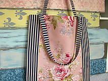 Nákupné tašky - Taška pro francouzskou růži - sleva z 8eru - 10694655_