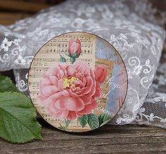 Odznaky/Brošne - Óda na ruže - 10694043_