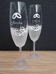 Nádoby - svadobné poháre na mieru - 10693223_