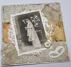 Papiernictvo - Svadobná pohľadnica - 10695128_