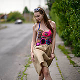 Šaty - Origo šaty hačkovanec limit - 10693651_